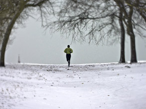 running-winter