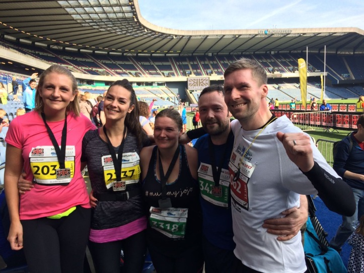 Keep on running - Edinburgh Kilomathon 2017